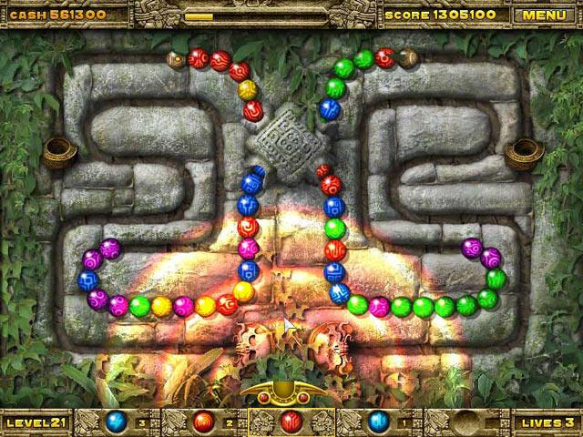 تحميل العاب اكشن ومغامرات مضغوطة للكمبيوتر لعبة زوما Marble Legend