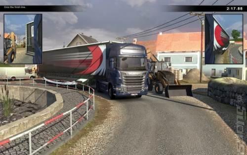 Scania Truck Driving Simulator The Game PC   تحميل لعبة سباق الشاحنات سكانيا تراك مجانا Scania Truck Driving