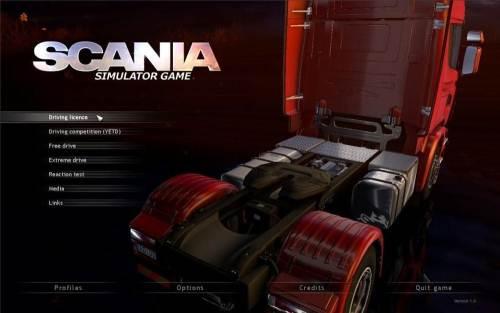 scania تحميل لعبة سباق الشاحنات سكانيا تراك مجانا Scania Truck Driving