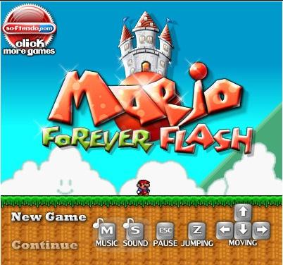 Mario Forever Flash downlaoder
