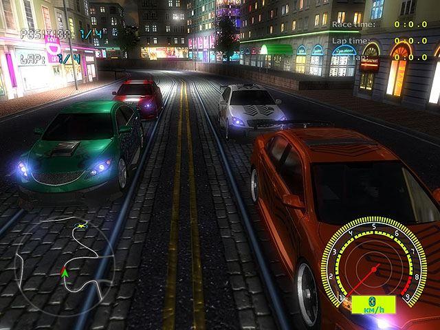free Night Street Racing