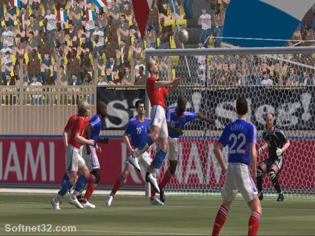 download Pro Evolution Soccer 6free