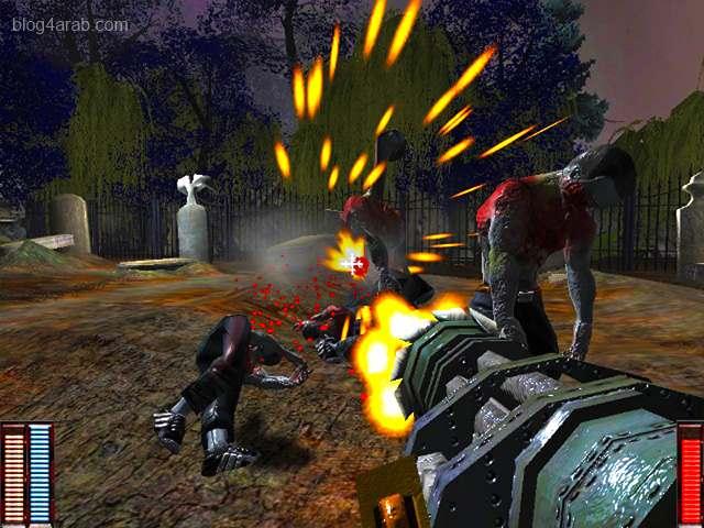 تحميل لعبة حرب الاموات Cemetery Warrior مجانا للكمبيوتر