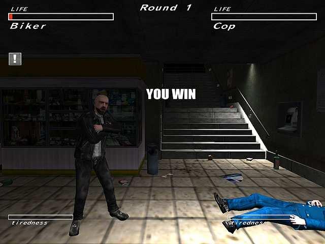 تحميل العاب قتال الشوارع للكمبيوتر مجانا Underground Fight Club