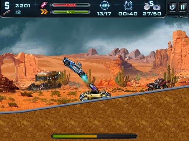 تحميل العاب كمبيوتر سباق سيارات مجانا - السيارات المدمرة Robo Racing