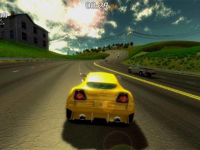 تحميل لعبة سباق سيارات بحجم صغير