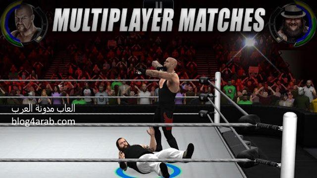 تحميل لعبة مصارعة للكمبيوتر والاندرويد مجانا Download WWE Raw