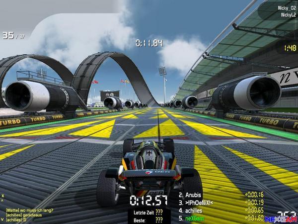 تحميل اقوى لعبة سباق سيارات للكمبيوتر والموبايل Trackmania Nations