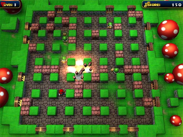 تحميل لعبة ماريو بومبر رجل القنابل بومبر مجانا Mario Bomber