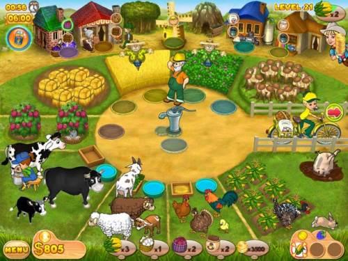 تحميل لعبة المزرعة farm mania