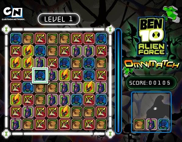 ben 10 alien force game free