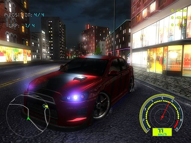 download Night Street Racing  pc