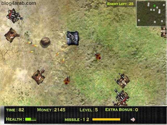 تحميل لعبة الاكشن حرب الدبابات العنيفة Furious Tank - العاب حربية