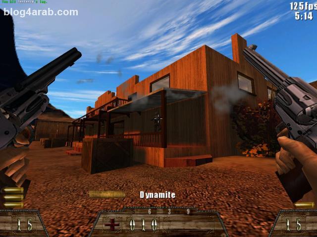 تحميل اقوى لعبة اكشن مجانية برابط صاروخي Smokin Guns