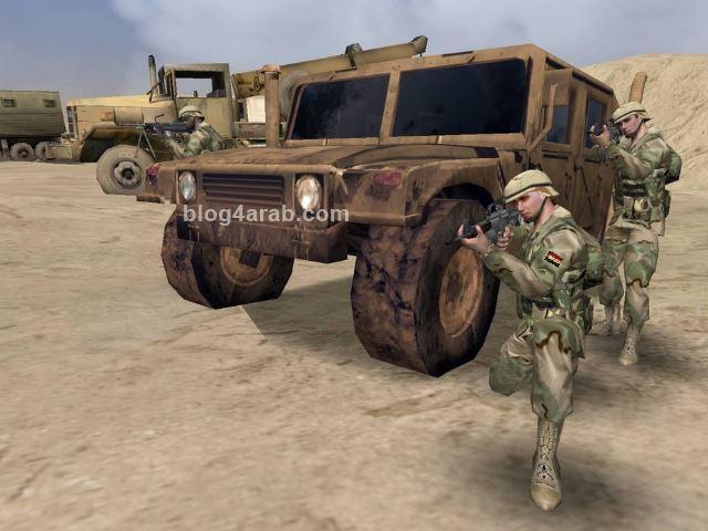 تحميل لعبة حرب اكتوبر النسر المصرى برابط مباشر Arabian Conflict