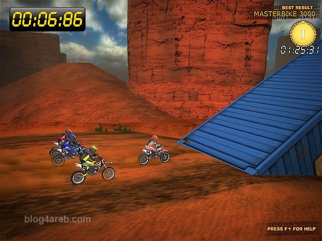 تحميل لعبة Desert Moto Racing سباق الدراجات الصحراوية مجانا