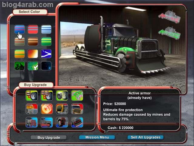 تحميل لعبة Mad Truckers مجانا - تحميل العاب شاحنات للكمبيوتر