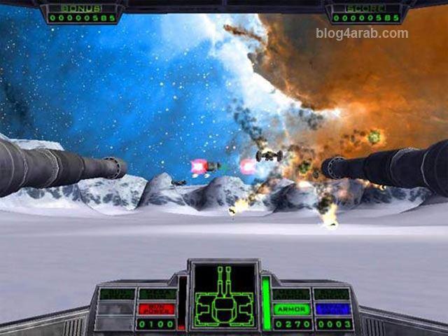 تحميل لعبة الأكشن حرب النجوم الجديدة مجاناً Star Gunner