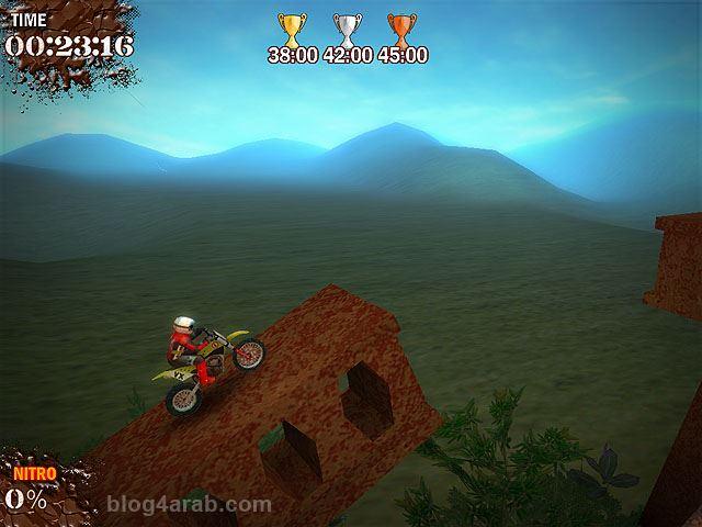 تحميل اجمل العاب الكمبيوتر سباق الدراجات النارية Trial Motorbikes