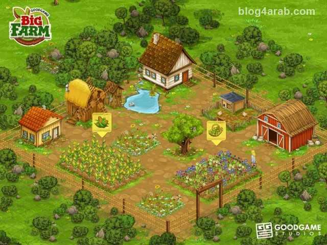 تحميل لعبة المزرعة  Big Farm