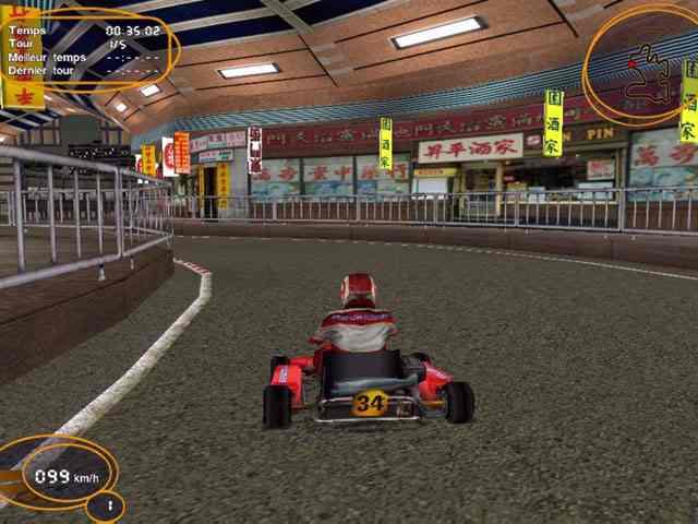تحميل لعبة سباق السيارات الصاروخية Open Karts