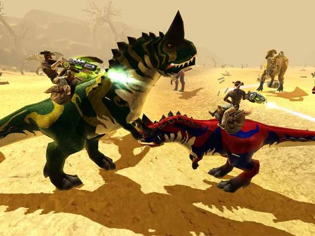 تحميل لعبة حرب الديناصورات برابط واحد