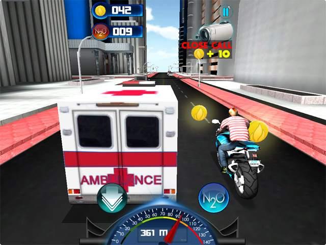 تحميل لعبة سباق الدراجات النارية City Moto Racer للكمبيوتر