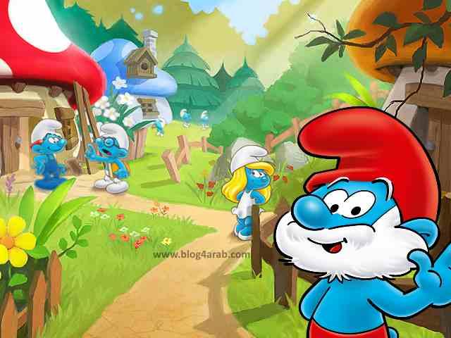 تحميل لعبة السنافر Smurfs' Village للاندرويد والايفون اخر اصدار مجانا