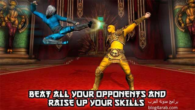 تحميل العاب الكونغ فو للاندرويد ثلاثية الابعاد Ninja Kung Fu
