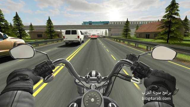 تحميل العاب سيارات ودراجات نارية للموبايل - لعبة ترافيك رايدر