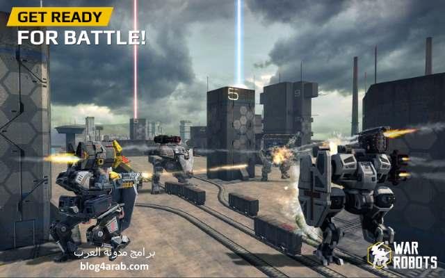 تحميل العاب اكشن قتال حرب الروبوت War Robots للموبايل