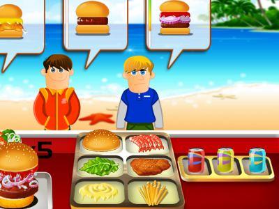 العاب طبخ للاطفال سريعة التحميل للاندرويد لعبة مطعم الهمبرجر