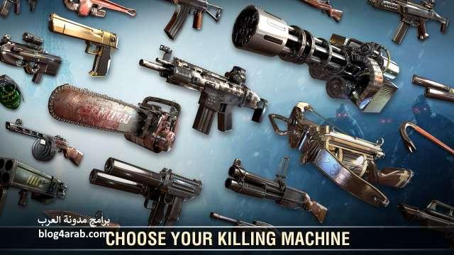 تحميل لعبة zombie world war للاندرويد