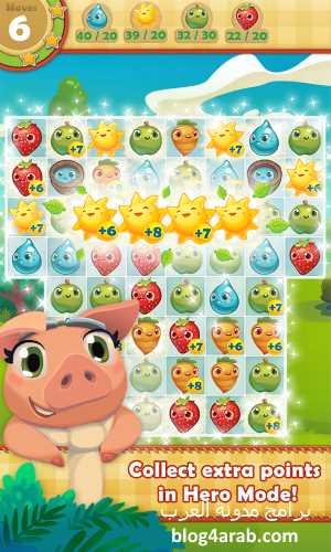 تحميل لعبة المزرعة الجديدة 2018 فارم ساجا للموبايل Farm Heroes