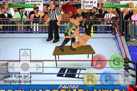 تحميل لعبة المصارعة للكمبيوتر بحجم صغير