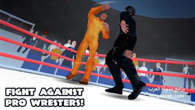 تحميل لعبة مصارعة حرة للاندرويد كاملة مجانا download wrestling revolution