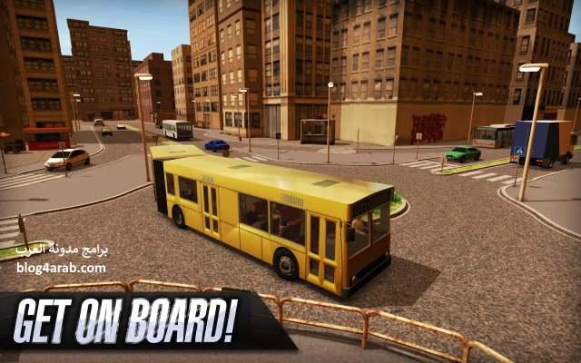 تنزيل وتحميل لعبة قيادة الباص توصيل الناس للاندرويد Bus Simulator