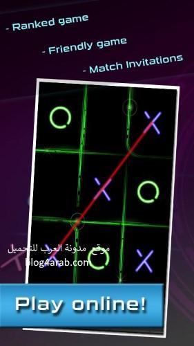 تحميل اجمل لعبة ذكاء وتسلية للأندرويد - لعبة XO اكس او