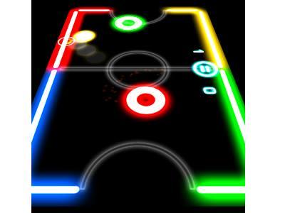 تحميل العاب اندرويد خفيفة الحجم مجانا 2018 Glow Hockey
