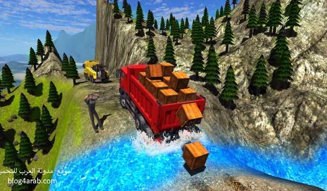 تحميل لعبة قيادة الشاحنات من الداخل