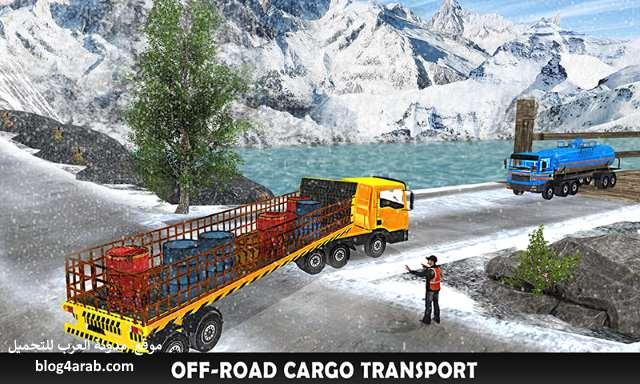تحميل لعبة قيادة الشاحنات العملاقة من الداخل للأندرويد Truck Driver