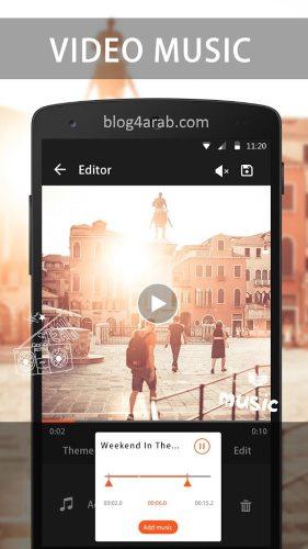 تحميل برنامج صانع الفيديو بالعربي