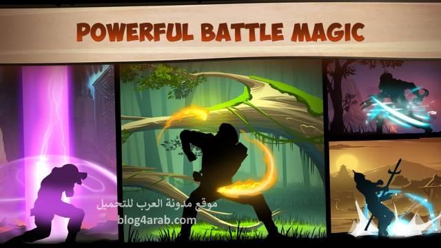 تحميل لعبة شادو فايت افضل لعبة قتال يابانية Shadow Fight