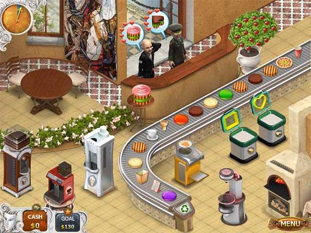 تحميل لعبة محل بيع الكيك والبيتزا مجانا Cake Shop