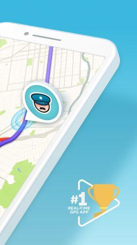 تحميل برنامج Waze Maps للخرائط وتحديد الاتجاهات