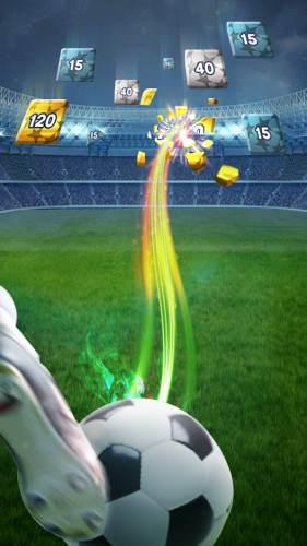 لعبة كرة قدم للاندرويد بحجم صغير