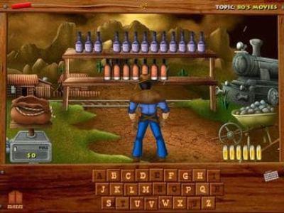 تحميل لعبة تعليم الحروف الانجليزية للأطفال Wild West Billy