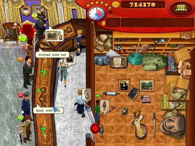 تحميل ألعاب ذكاء خفيفة مجانا برابط واحد للكمبيوتر Antique Shop